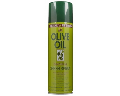 Olive oil sheen spray Organic Root