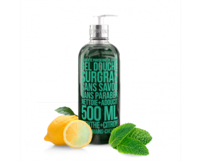 Gentle shower gel with Mint and Citrus
