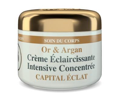 HT26 - Intensive body whitening Cream Gold & Argan
