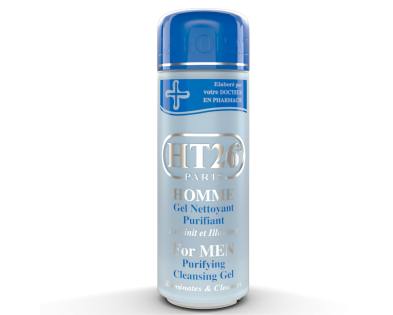 HT26 - Purifying cleansing gel for men